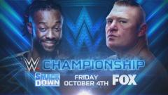 Brock Lesnar To Face Kofi Kingston For WWE Title On 10/4 SmackDown On Fox