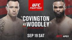 UFC Vegas 11 Results: Colby Covington Decimates Tyron Woodley, Chimaev Gets A One Punch KO