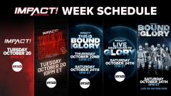 AXS TV Announces IMPACT Week Beginning October 20