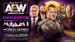AEW Dynamite Coming To Miami On January 15
