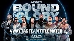 IMPACT Tag Team Title Bout Official For IMPACT Bound For Glory