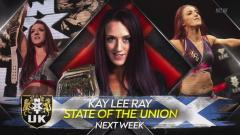 Kay Lee Ray State Of The Union, Heritage Cup Action Set For 10/8 NXT UK