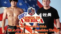 DDT Pro-Wrestling Announces Full Card For Their 'Coming To America' Show On WrestleMania Week