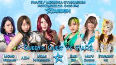 Stardom In Morioka (11/29) Results: Queen's Quest vs. STARS In Six-Woman Tag Action!