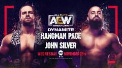 Hangman Page Bout Added To 11/25 AEW Dynamite