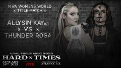Multiple Title Matches, Marty Scurll Appearance Added To NWA Hard Times; Update Card