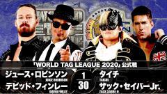 NJPW World Tag League Night 12 Results (11/30): FinJuice Takes On Dangerous Tekkers