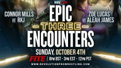 RevPro Epic Encounters 3 Announced, Will Ospreay To Defend British Heavyweight Title