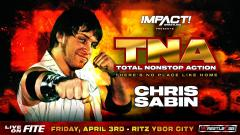 Chris Sabin Announced For TNA: There's No Place Like Home