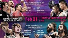NJPW Road 2/21/20 Results, Live Coverage & Discussion This Morning At 4:30am EST.