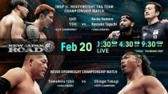 NJPW Road 2/20/20 Results: Two Title Matches & Manabu Nakanishi's Road To Retirement Continues