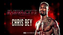 Chris Bey Signs With IMPACT Wrestling
