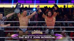 John Morrison & The Miz Defeat New Day To Win SmackDown Tag Team Titles At WWE Super ShowDown