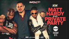 Matt Hardy And Private Party To Appear On 1/26 IMPACT Wrestling