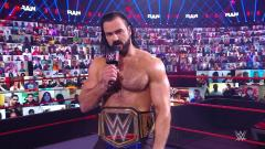 Drew McIntyre Returns From COVID On WWE Raw, Dedicates Royal Rumble Match To Those With Virus