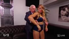 Royal Rumble News On WWE Backstage, Ric Flair Coaches Lacey Evans   Post-Raw Fight Size