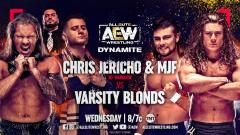 Britt Baker, Chris Jericho, And MJF All Announced To Compete On 1/27 AEW Dynamite