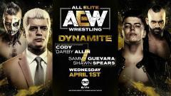 Cody & Darby Allin Face Shawn Spears & Sammy Guevara, Kenny Omega Battles Trent On 4/1 AEW Dynamite