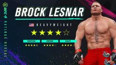 Brock Lesnar Added To EA UFC 4