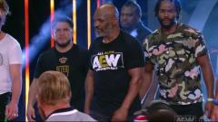 Mike Tyson, Henry Cejudo, Vitor Belfort, & Rashad Evans Crash Inner Circle Pep Rally On AEW Dynamite
