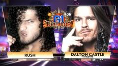 RUSH vs. Dalton Castle Added To ROH-NJPW G1 Supercard, Updated Card