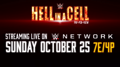 WWE Hell In A Cell Officially Announced For 10/25