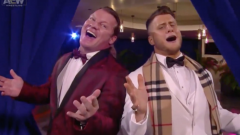 MJF And Chris Jericho's Steak Dinner Turned Into A Rat Pack Cover And Dance, And We Have The Lyrics