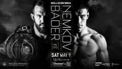 Ryan Bader To Defend Bellator Light Heavyweight Title Against Vadim Nemkov In May