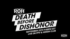 ROH Announces Best Of Death Before Dishonor PPV In September