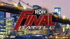 Ring of Honor Wrestling Final Battle
