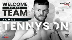 James Tennyson Signs With Matchroom Boxing, Fights Set For PBC 2/15 Card | Fight-Size Boxing Update