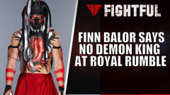 Finn Balor Says He'll Show Up As A Man, Not A Demon, Against Brock Lesnar At WWE Royal Rumble