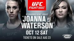 UFC Fight Night Tampa Results: Joanna Jedrzejczyk vs. Michelle Waterson Headlines & An Up Kick KO