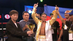 John Riel Casimero Victorious In ESPN5 Card