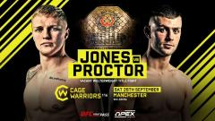 Cage Warriors 116 Weigh-In Results, COVID-19 Cancels One Title Bout