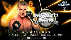 Ken Shamrock's IMPACT Wrestling Hall Of Fame Ceremony Set For 10/24