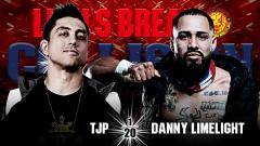 NJPW Lion's Break Collision Results (7/10): TJP Faces Danny Limelight