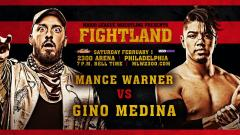Mance Warner vs. Gino Medina Announced For MLW: Fightland