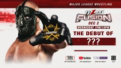 CONTRA's Masked Wrestler To Make MLW In-Ring Debut On 12/2 FUSION