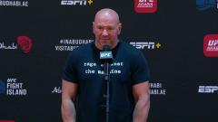 Dana White Says UFC 254 Main Event 'Is Trending Off The Charts'