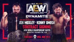 AEW World Title Contract Signing, FTR Return Announced For 11/25 Dynamite