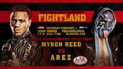 Myron Reed vs. Arez Announced For MLW: Fightland