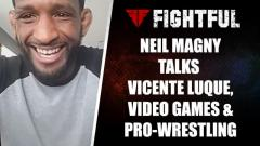Neil Magny Talks Vicente Luque Matchup, Video Games & Pro-Wrestling