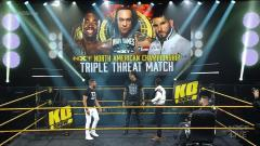 NXT North American Title Triple Threat, Strap Match Added To TakeOver: WarGames