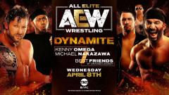 Kenny Omega & Michael Nakazawa vs. Best Friends Announced For 4/8 AEW Dynamite