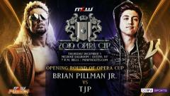 Brian Pillman Jr. vs. TJP Set For 2019 Opera Cup First Round In December MLW Fusion Tapings