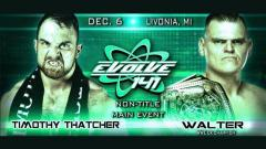 EVOLVE 141 Results (12/6): Briggs vs. Drake, WALTER vs. Thatcher, More