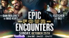 RevPro Epic Encounters 4 Announced, To Air On Twitch On 10/25