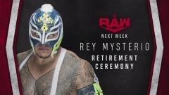 Rey Mysterio Retirement Ceremony, Aleister Black vs. Seth Rollins Set For 6/1 WWE Raw