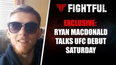 EXCLUSIVE: Ryan MacDonald Talks UFC Debut This Saturday Against Chris Gutierrez